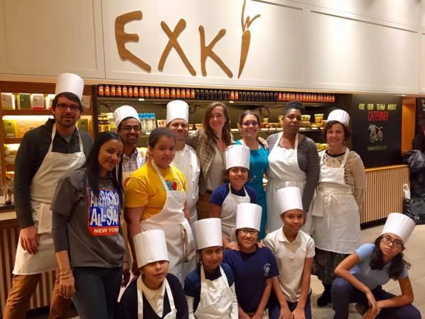 Teza Technologies ASAS Exki Cooking Class